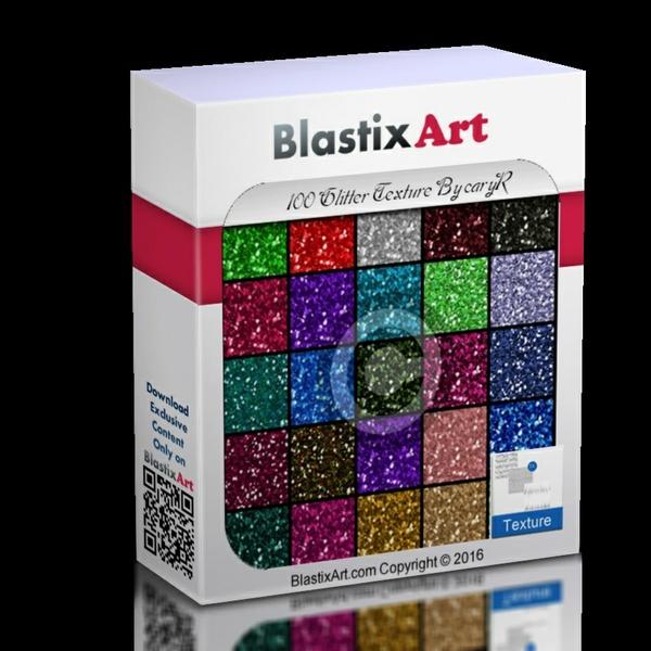 100 Glitter texture