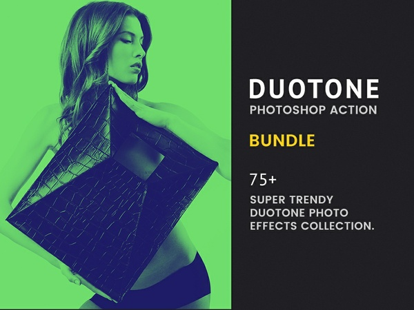 Duotone Photoshop Actions