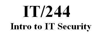 IT 244 Week 1 Individual - Introduction to the Information Security Policy - Appendix C