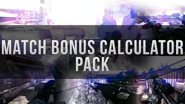Cod Match Bonus Calculator Pack