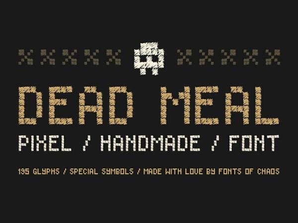 Dead Meal - Font.
