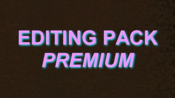 EVERY EDITING PACK I HAVE COLLECTED. (Faze/Youtube)
