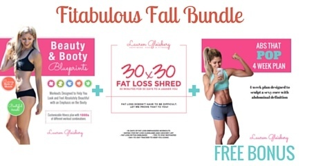 Fitabulous Fall Bundle (Beauty and Booty Blueprints + 30x30 + FREE BONUS Abs That POP Plan)