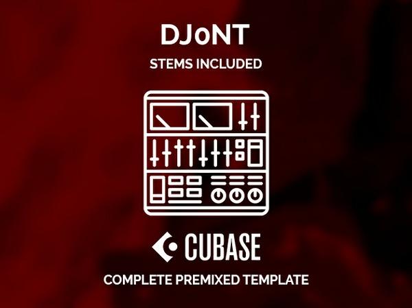 CUBASE PREMIXED TEMPLATE - Dj0nt style