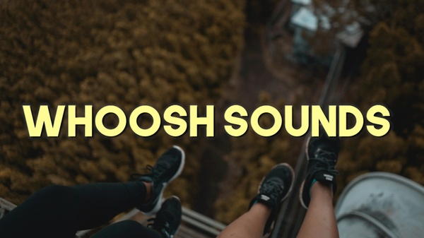 Whoosh Transitions Sound Pack
