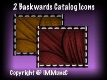2 Backwards Catalog Icons