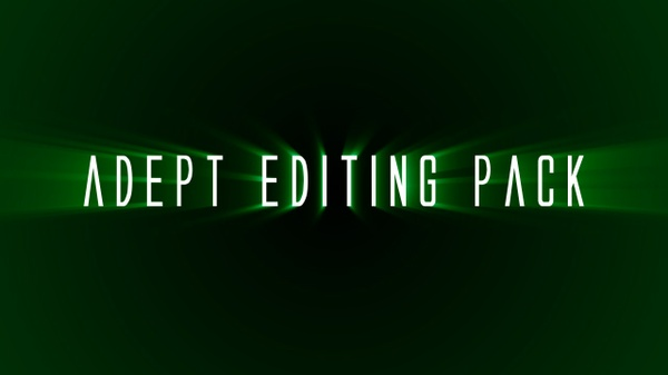 Adept's Editing Pack