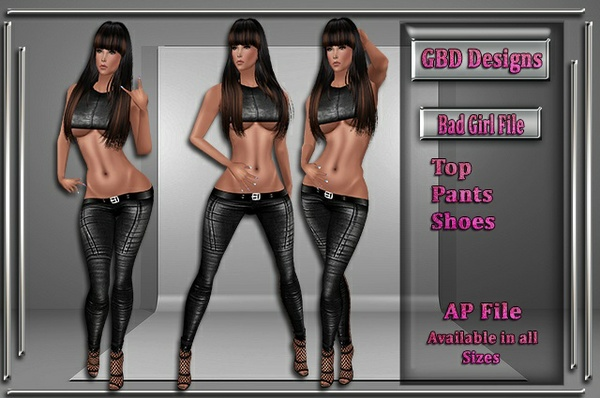 Bad Girl Set NO RESELL ON THIS FILE