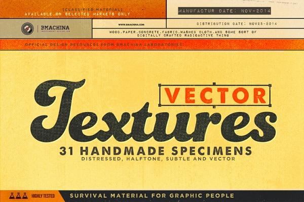 Distressed Vector Textures