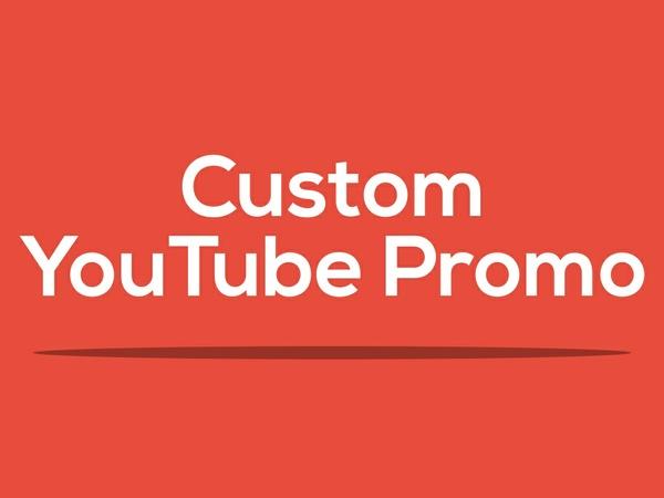 Custom 2D Promo