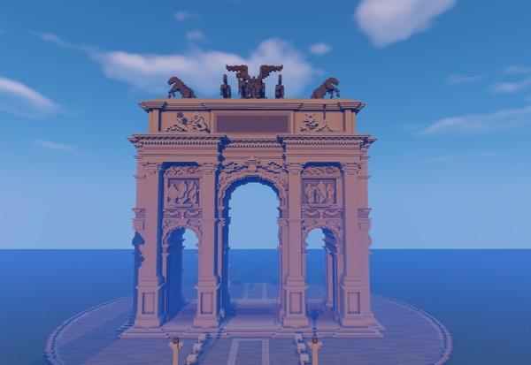 Triumphal Arch minecraft