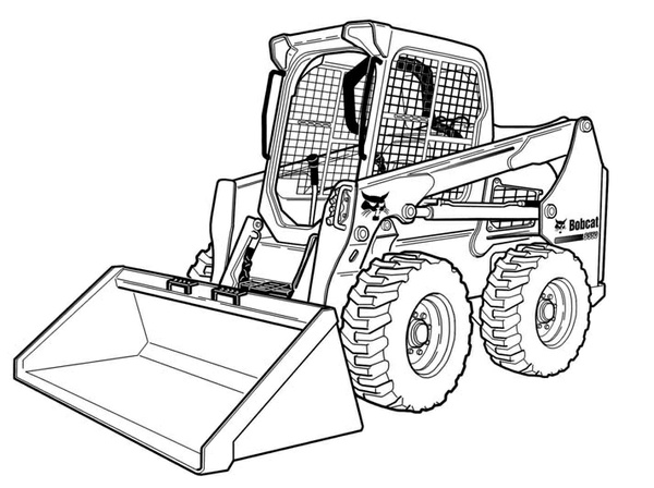 Bobcat S590 Skid-Steer Loader Service Repair Manual Download(S/N AR9R11001 & Above)