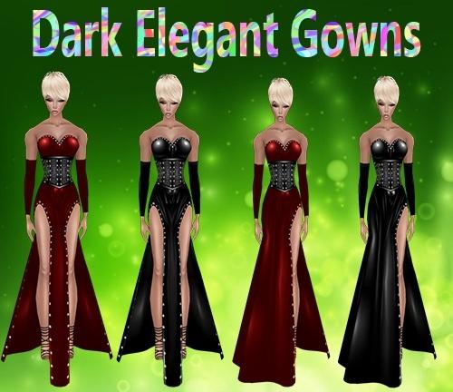 Dark Elegant Gowns