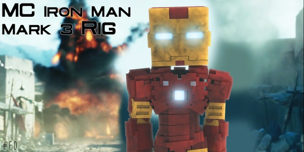MC Iron Man Mark 3 Rig (Iron Man)(#FD)