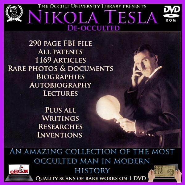 Nikola Tesla Lifetime Works and MORE