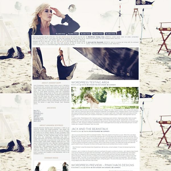 Rebel Light Wordpress Theme