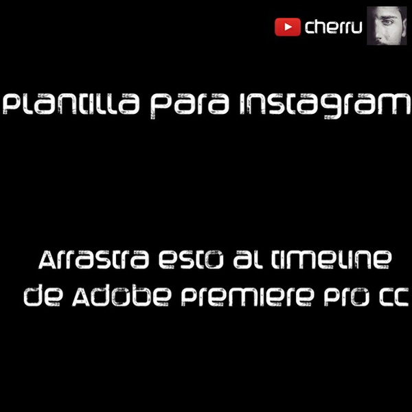 Plantilla de videos para Instagram