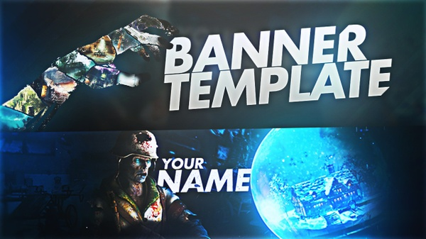Blacks Ops 3 Zombies Chronicles Banner Template - Aleo x MineXx
