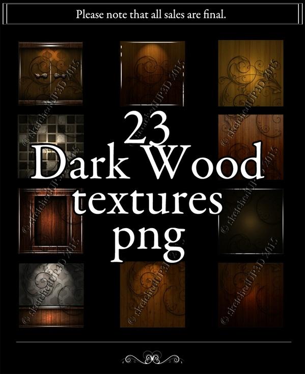 23 Dark Wood & Room Textures