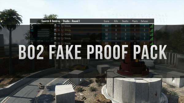 Bo2 Fake Proof Pack