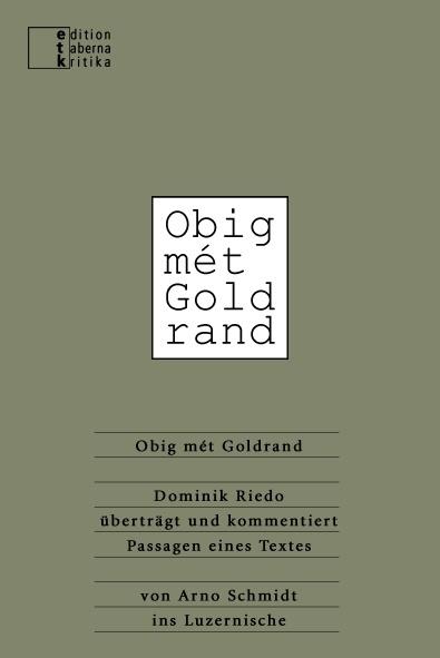 Obig mét Goldrand