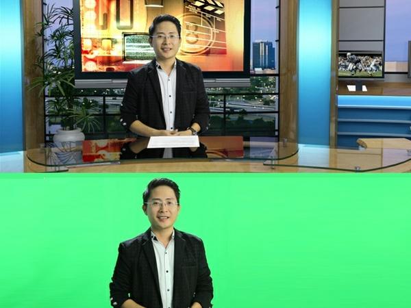 vMix Virtual Set Studio - News style 01