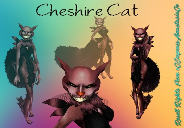 Cheshire Cat No Resell 0/3 People Limited