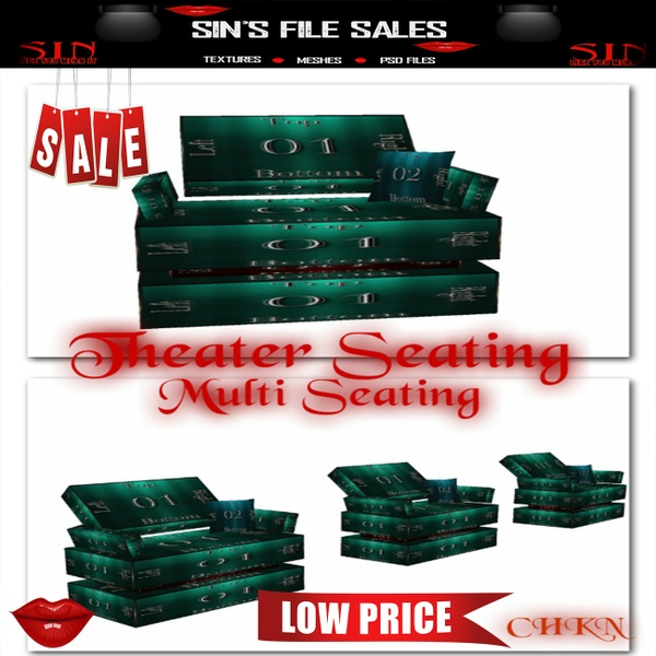 Theater Seats *Mesh