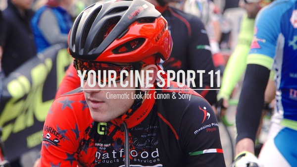 """Your Cine-Sport 11"" LUT for Canon & Sony"