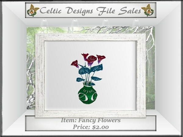 CD Fancy Flowers