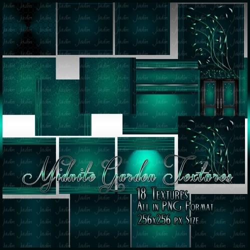 Midnite Garden Texture Pack -- $2.00