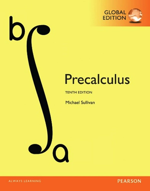 Precalculus, 10th edition ( Global Edition)  ( PDF, Instant download )