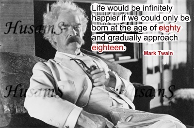 Mark Twain's Picture Quote ( #019 )