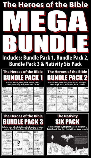 The Heroes of the Bible: Mega Bundle