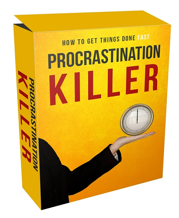 Box Procrastination Killer - How To Get Things Done Fast in Audio, Video, Ebook