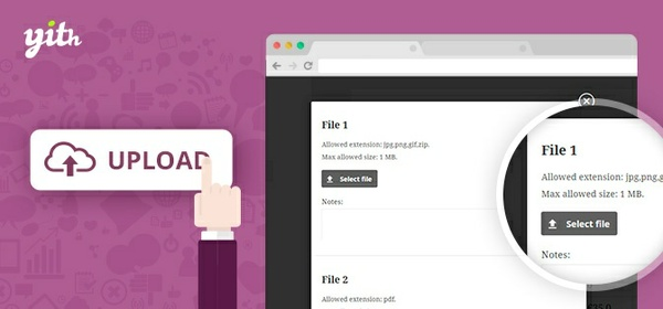 YITH WooCommerce Uploads 1.1.30 Extension