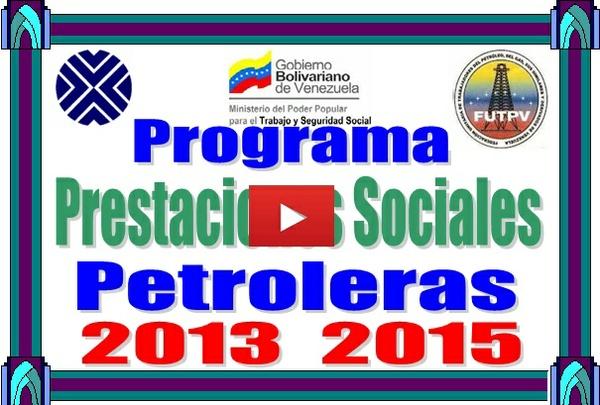 Prestaciones Petroleras Programa de Cálculo 2013-2015