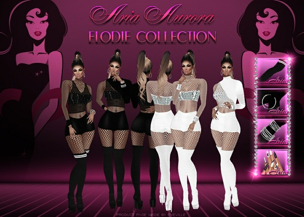 Elodie Collection(onSis3D mesh).Resell Right!