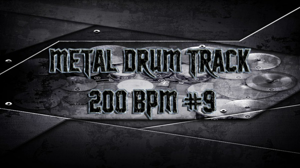 Metal Drum Track 200 BPM #9 - Preset 2.0