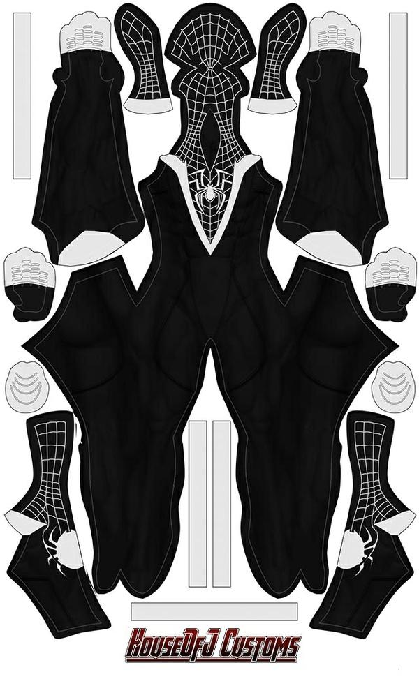 """Symbiote """"Miles Morales"""" Design"""
