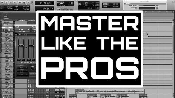 MASTER LIKE THE PROS (FULL PROGRAM)