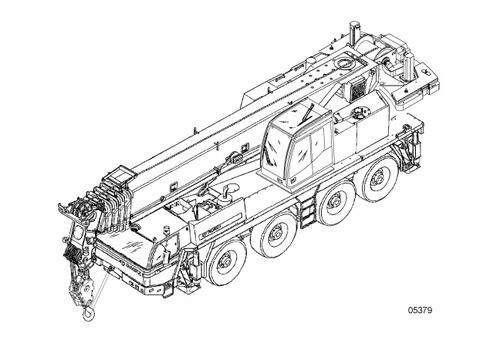 TADANO FAUN ATF 80-4 CRANE SERVICE REPAIR MANUAL