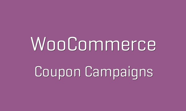 WooCommerce Coupon Campaigns 1.1.1 Extension