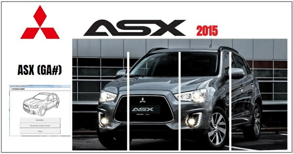 MITSUBISHI ASX 2015 WORKSHOP MANUAL