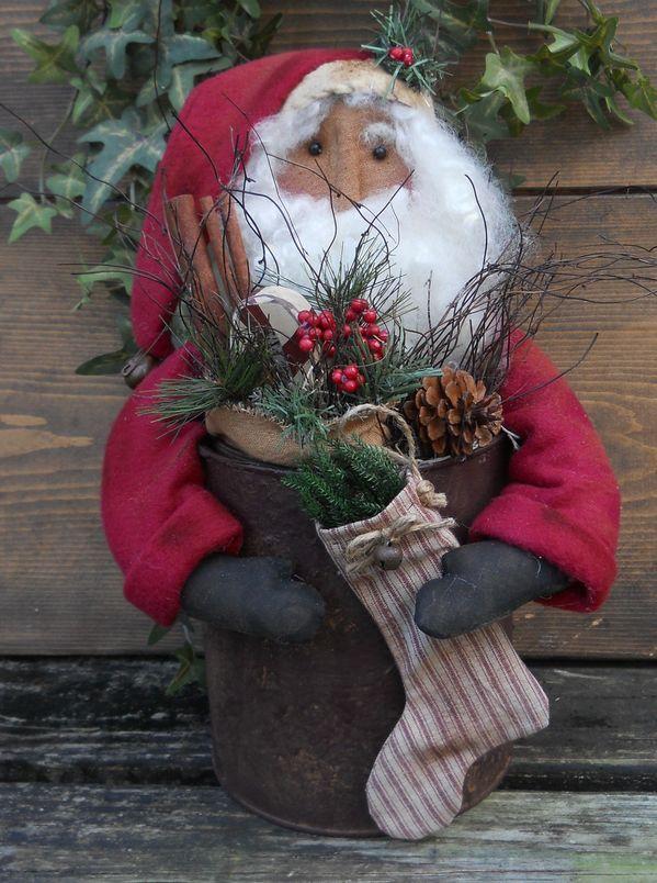#216 Santa in Can E Pattern