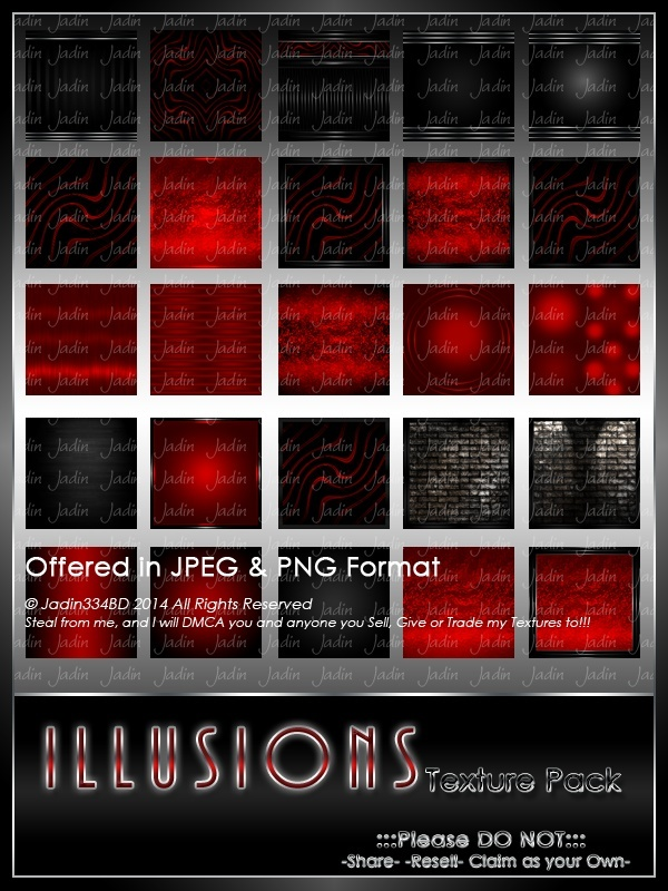 Illusions Texture Pack --- $4.00
