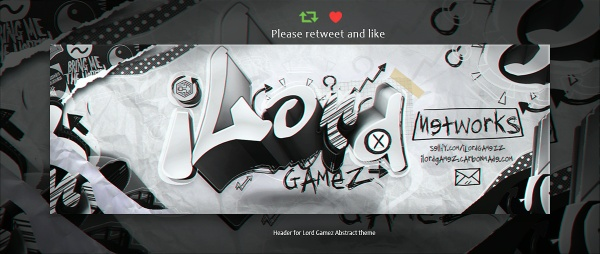 Header for Lord | Psd Template