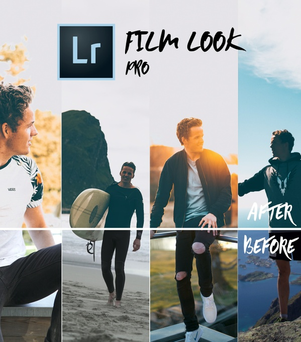 FILM LOOK PRO - 20 Lightroom Smart Presets // INSTANTLY UP YOUR INSTAGRAM GAME