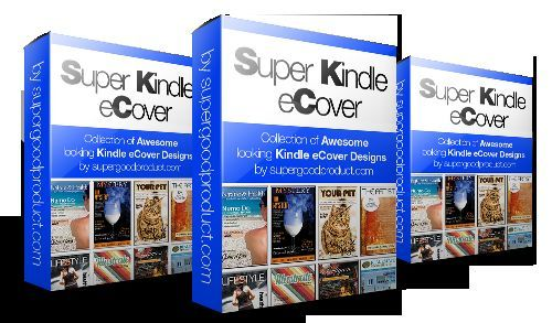 Kindle Super Covers - with PSD files and Developer Rights