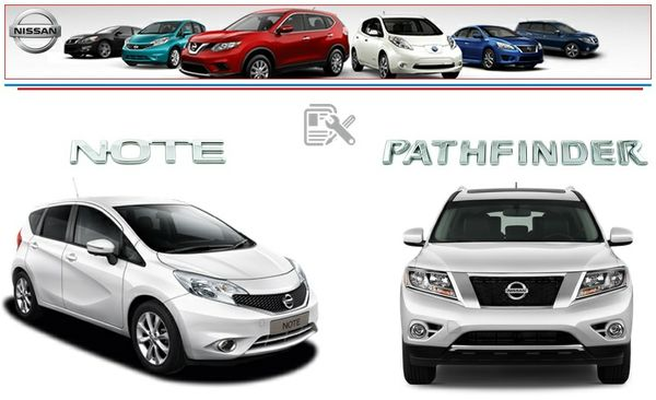 NISSAN NOTE & PATHFINDER 2014 FACTORY SERVICE MANUAL